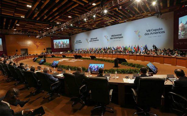 Cumbre de las Américas aprueba en Lima compromiso contra la corrupción