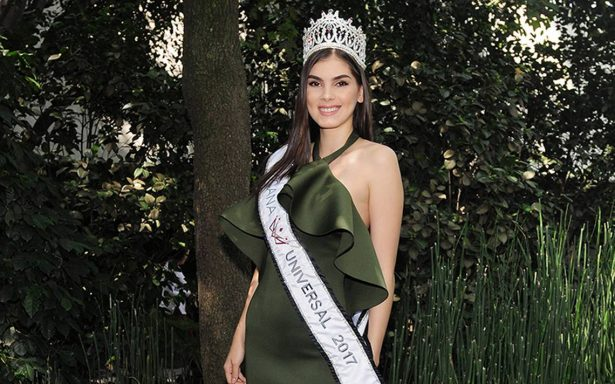 Denisse Franco,va por la corona de Miss Universo