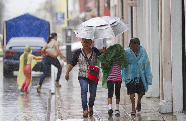 Pronostican lluvias en diversos estados de la República Mexicana