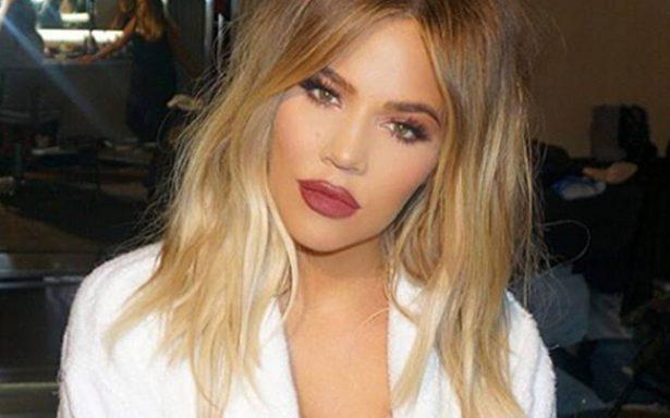 Revelan video que muestra al novio de Khloé Kardashian siéndole infiel