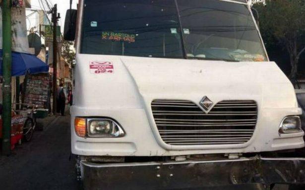 'Justiciero' abate a asaltante en robo a camión en Naucalpan