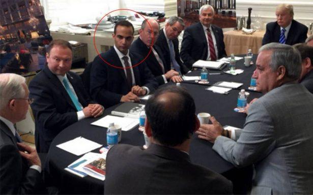 Papadopolous, asesor de Trump, admite haber mentido al FBI