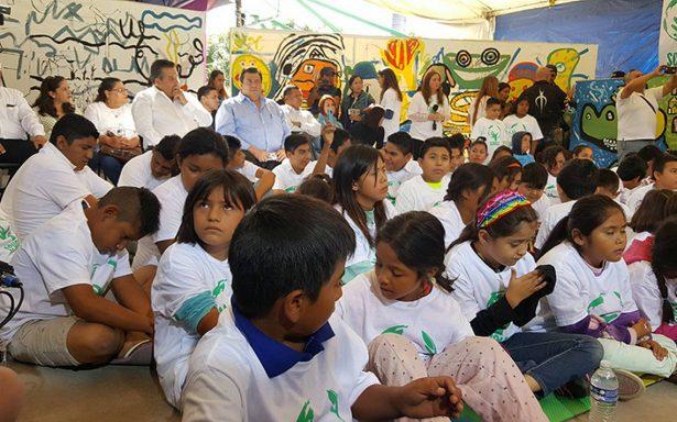 Dialoga el Papa con niños de Jojutla