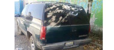 Hallan vehículo con cuatro cadáveres en Jalisco