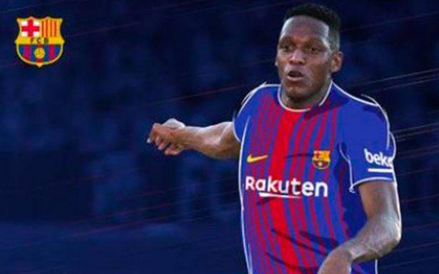 ¿El reemplazo de Mascherano? Barcelona ficha al colombiano Yerry Mina