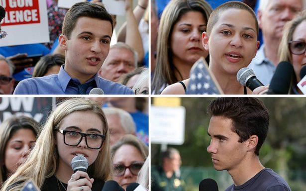 Conoce a los jóvenes que exigieron a Trump un cambio en las leyes sobre armas en EU