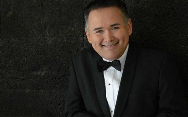 El tenor mexicano Javier Camarena se presentará en el Palacio de Bellas Artes