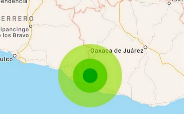 Se registran dos sismos de magnitudes 4.1 y 4.2 en Oaxaca