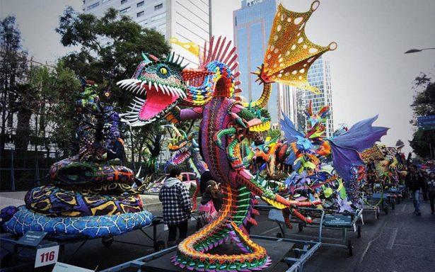 Así fue el desfile de alebrijes monumentales en la CDMX