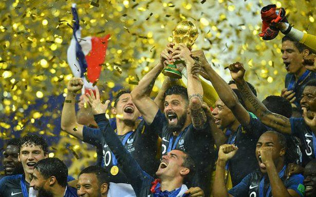 ¡Vive La France! Francia, campeón del Mundo