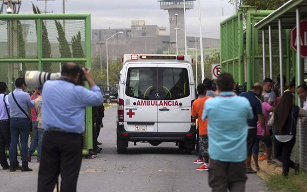 Suman 18 muertos en Cadereyta