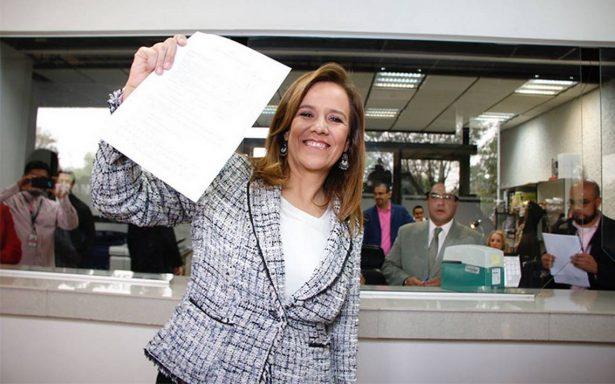 Margarita Zavala se registra como candidata independiente a la Presidencia rumbo al 2018