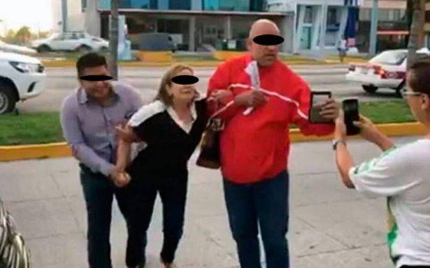 Cesan a policías que confundieron y detuvieron a una doctora en Boca del Río