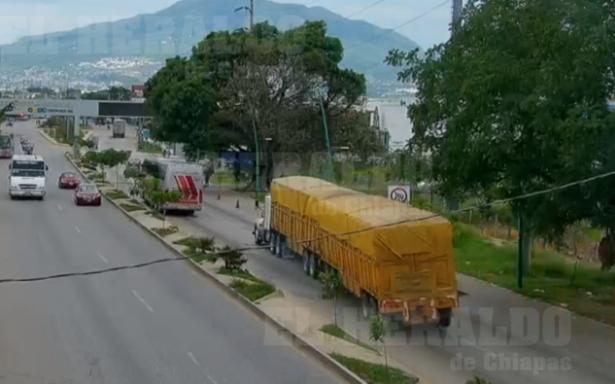 [Video] Momentos antes del impacto del tráiler que dejó 7 muertos en Chiapas