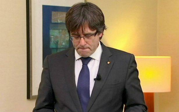 Puigdemont se entrega a la policía belga