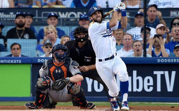 Los Dodgers de Los Ángeles derrotaron anoche 3-1 a los Astros de Houston