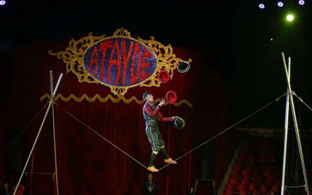 Circo Atayde Hermanos se despide de la Carpa Astros