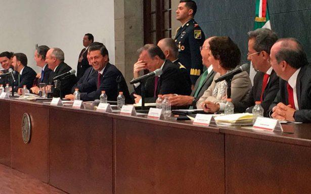 Así respondió Peña Nieto sobre el candidato presidencial del PRI