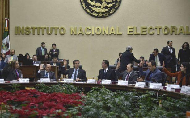 INE sanciona 'pagos fantasma' de partidos realizados en 2012