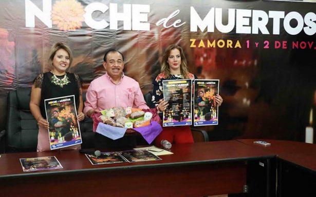 """Anuncian """"Noche de Muertos Zamora 2017″"""
