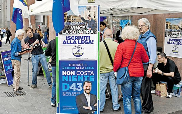 Partidos populistas de Italia acuerdan propuesta de gabinete para nuevo gobierno
