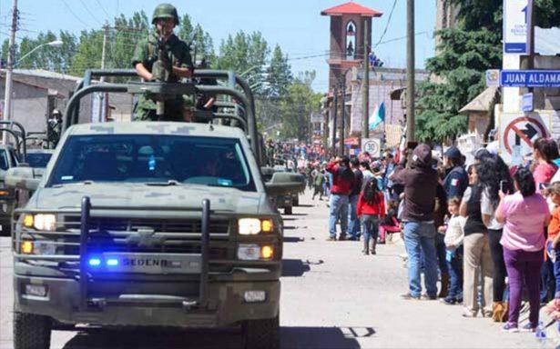 'No es necesario militarizar la frontera', señala alto funcionario de Chihuahua