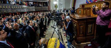 Juramentan gobernadores electos del chavismo, sin oposición