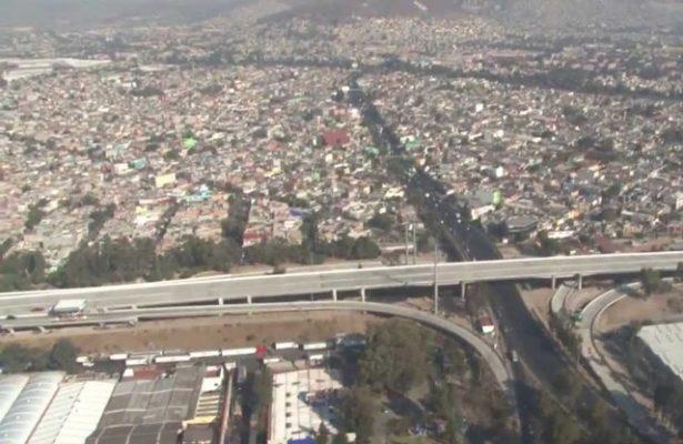 Norte y sureste del valle de México presentan mala calidad del aire