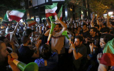 Irán ganó su segundo partido en un Mundial y así festejaron en Teherán