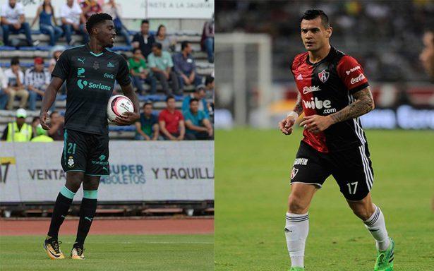 Última oportunidad para que Santos y Atlas aspiren a la Liguilla