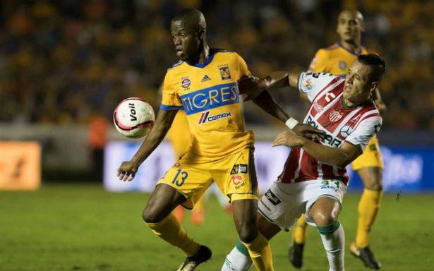 Tigres supera 1-0 a Necaxa y se afianza en subliderato del Apertura 2017