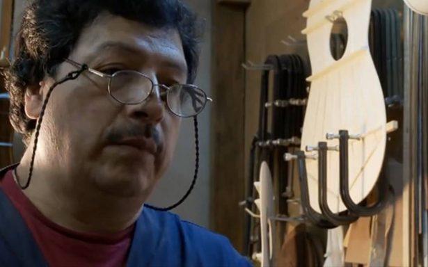 Él es el creador de la guitarra de Ernesto de la Cruz en 'Coco'