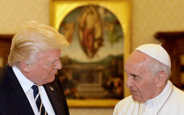 Papa critica a EU por dejar acuerdo de París sobre cambio climático