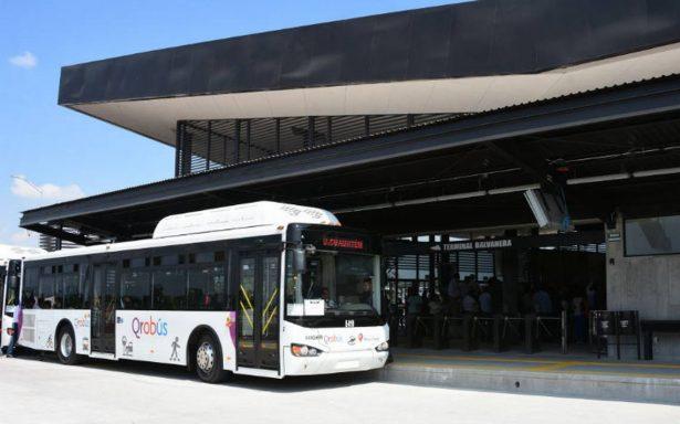 Arranca nuevo sistema de transporte Qrobús