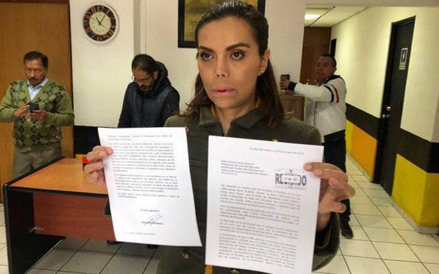 [Video] ¿Se unirá a Morena? Diana Sánchez Barrios renuncia al PRD