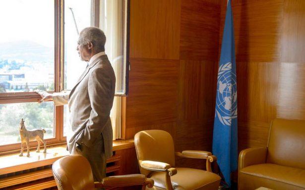 Éstas son las principales fechas en la vida de Kofi Annan