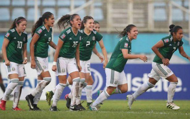 Tri femenil sub 20 hace historia al ganar PreMundial de la Concacaf