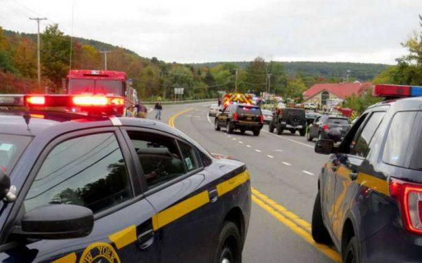 Mueren 20 personas tras choque de una limosina en Nueva York