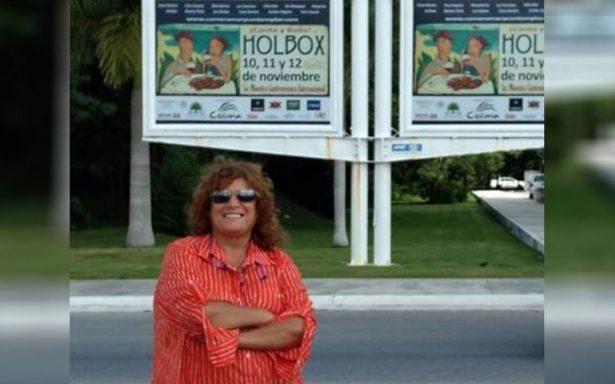 Señora ¿y la madre naturaleza? Acusan a Denisse de Kalafe de daños ambientales en Holbox