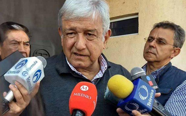 """""""No voy hacer leña del árbol caído"""", AMLO descarta sumar a Osorio Chong"""