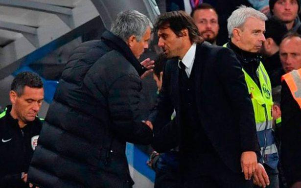 Conte y Mourinho se enfrascan en guerra de declaraciones
