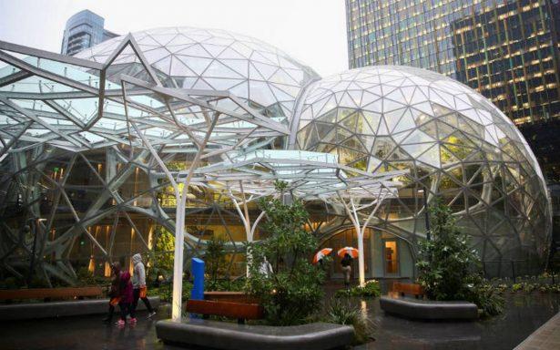 [Video] Así es la selva futurista de Amazon para sus empleados