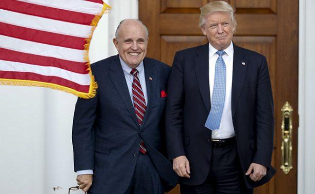 Rudy Giuliani se aparta de cualquier posición en gabinete de Trump