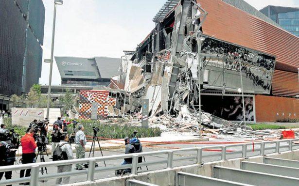 Protección Civil avaló en 2016 obra de Artz Pedregal a pesar de daños