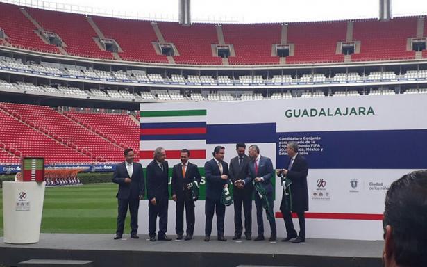 Guadalajara presenta su candidatura para el Mundial 2026