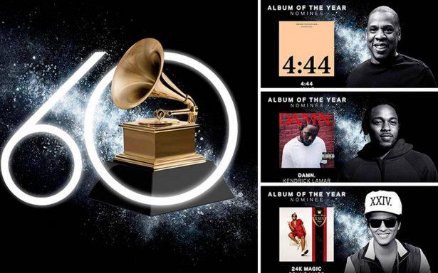 ¡Estos son los nominados para los Premios Grammys 2018!