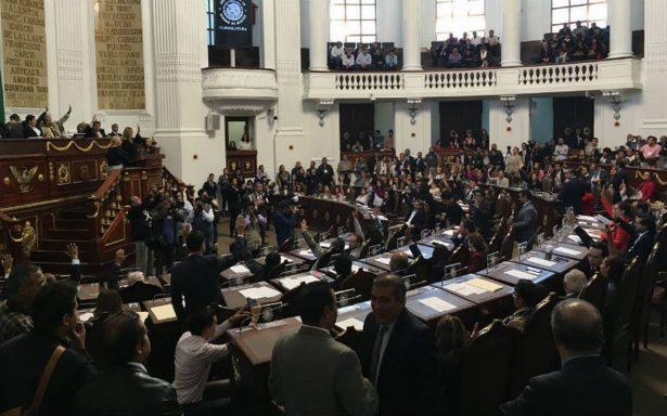 Otra licencia, ahora de Morena en el Congreso capitalino
