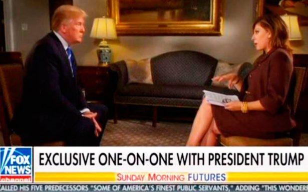 Trump: TLCAN será renegociado sólo si es justo para EU