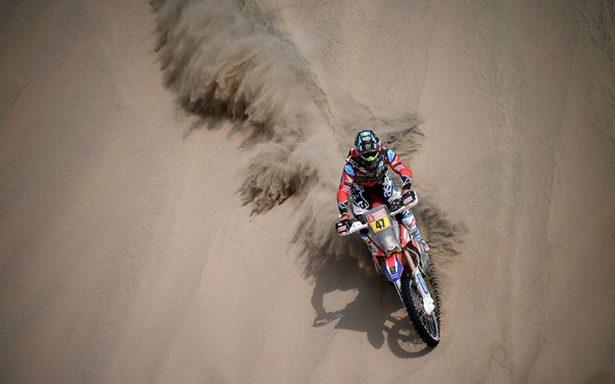 Kevin Benavides hizo historia en el Rally Dakar