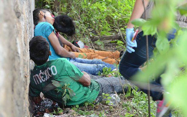 Con tiro de gracia, ejecutan a un hombre y sus 3 hijos en Coyuca